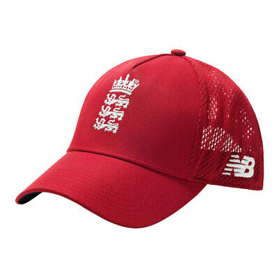 New Balance England Dominate T20 Cricket Cap - Team Red • 22.45£