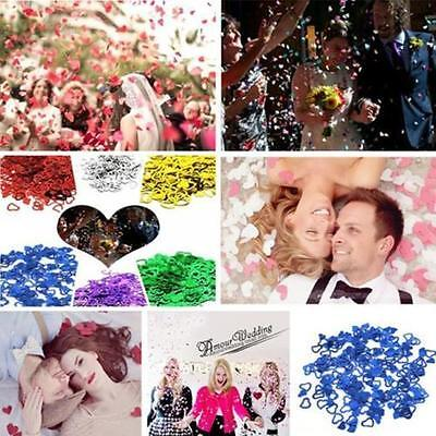 £1.96 • Buy Table Party Scatters Confetti Foil Heart Wedding Engagement Decorations Supplies