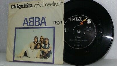 £103.11 • Buy Abba - Single¨  Chiquitita / Loveligth  Collection  Bolivia
