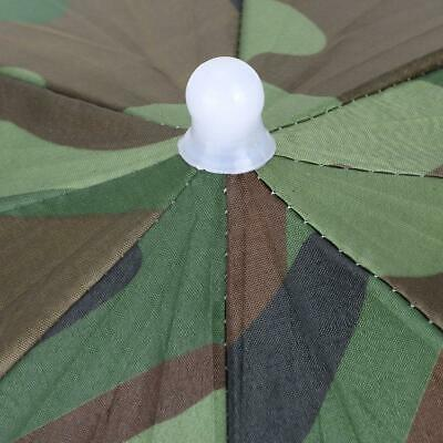 AU10.02 • Buy Foldable Umbrella Hat Fishing Sun Hat For Outdoor Activity Hiking Headwear Umbre