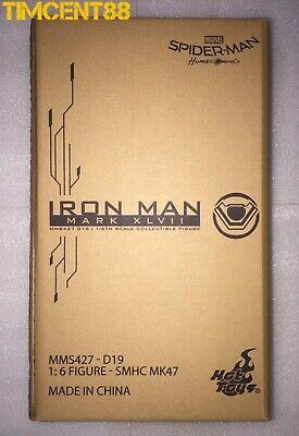 $ CDN680.18 • Buy Hot Toys MMS427D19 SPIDER-MAN: HOMECOMING 1/6 IRON MAN MARK XLVII 47 Re-issue