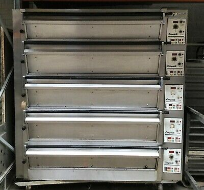 Tom Chandley 5 Deck 15 Tray 3 High 2 Low Crown Bakery Oven BAKERY EQUIPMENT • 6,800£