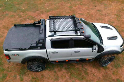 Combat Roll Bar With LED Light Pods For Nissan Navara NP300 2016+ • 552£