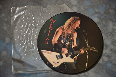Metallica Litd Edition Interview Picture Disc • 15£
