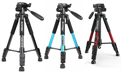 £20.99 • Buy ZOMEi Q111 Travel Camera Tripod Kit 55-inch For DSLR Camcorder Phone Photography