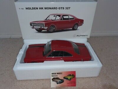 AU699.95 • Buy 1:18 Biante Holden HK GTS 327 Monaro Coupe In Picardy Red