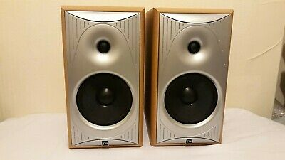 JPW 202 Solid Wood Hi-Fi Stereo Bookshelf Speakers  • 99.99£