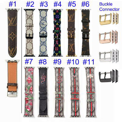 $ CDN20.16 • Buy For Apple Watch IWatch Band Series 1-6 SE Modern Buckle Genuine Leather Strap