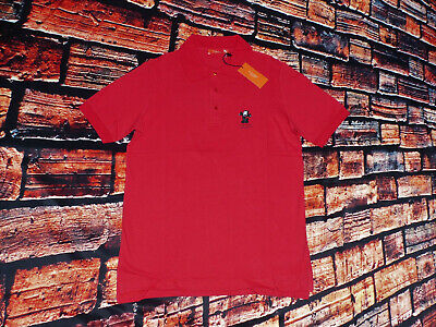 New ICEBERG HISTORY Polo Shirt Felix The Cat Red Cat Comic Hangover Size: M New • 45.51£