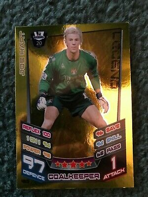 £1 • Buy Match Attax Premier League 2012/13, Joe Hart Legend Card, No. 465.