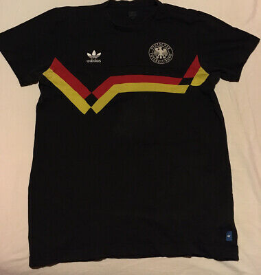 West Germany World Cup 1990 Adidas Originals Football T Shirt Black. Medium. • 25£