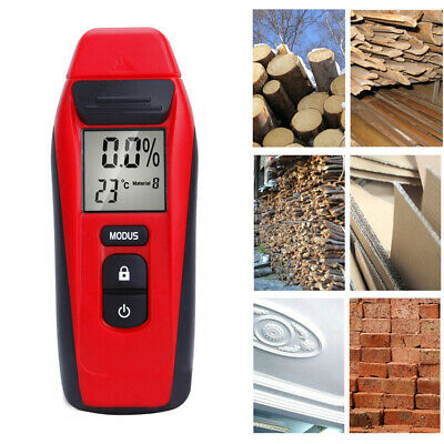 Digital Moisture Meter Damp Detector Timber Wood Tester Plaster Sensor • 20.39£