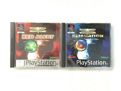 AU145 • Buy Command & Conquer Red Alert & Retaliation  - Sony Playstation 1 - Complete Vgc