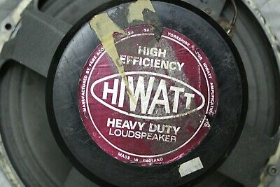 $ CDN500.02 • Buy Rare Vintage 1970s 1978 Hiwatt Fane 122918 16 Ohm Guitar Amplifier Speaker