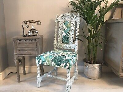 Ornate Antique Chair : Bedroom / Hall / Ocassional  • 135£