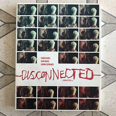 £76.46 • Buy Disconnected Blu-Ray + DVD With Slipcover Vinegar Syndrome RARE OOP