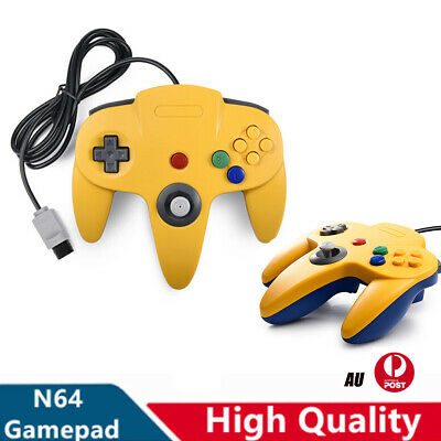 AU37.99 • Buy Wired N64 Classic Controller Gamepad Joystick For Nintendo 64 Video Game Console