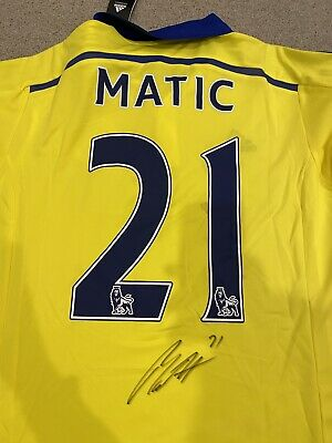 AU100 • Buy Chelsea Jersey Signed By Matic