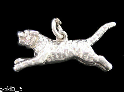Tiger Charm Sterling Silver 925 Charmmakers 3D • 7.99£
