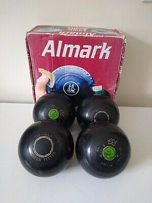 £15.99 • Buy Almark Lawn Bowls Size 4 In Good Condition