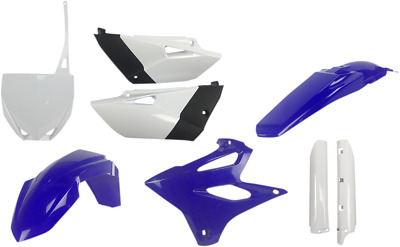 AU236.30 • Buy Acerbis Complete Plastic Fender Body Kit 15 OE Blue White Yamaha YZ85 2015-2019