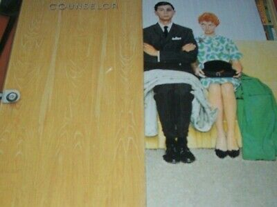 $ CDN30.83 • Buy Unpublished Illustration  MARRIAGE COUNSELOR  Domestic Violence Norman Rockwell