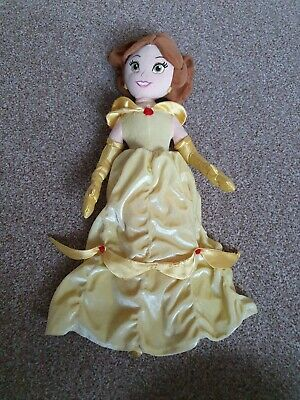 Disney Store Exclusive Princess Belle Beauty And The Beast Soft Doll Toy Plush • 9.90£