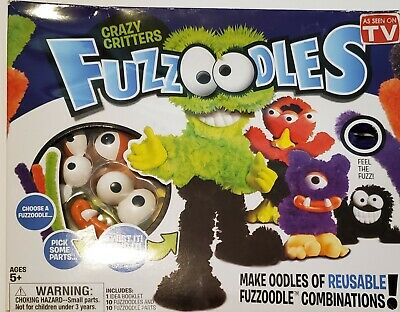 £13.81 • Buy FUZZOODLES Crazy Critters Craft Create Kit NEW! (B4)