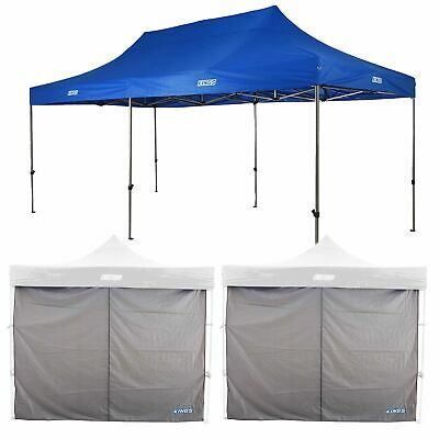 AU255.45 • Buy Adventure Kings Gazebo 6mx3m UPF50+ Steel Frame + 2x Gazebo Side Wall 3mx3m
