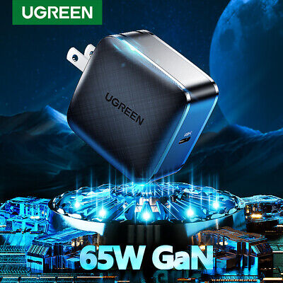AU43.19 • Buy Ugreen PD Charger 65W USB C GaN Charger Type C Wall Fast Charging Fr IPhone 11 X