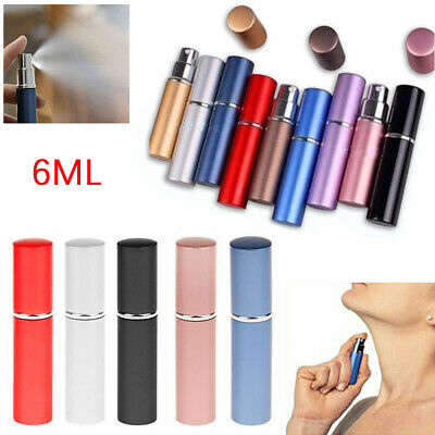 3X Perfume Atomiser Bottle Aftershave Atomizer 6ml Pump Travel Refillable Spray • 5.99£