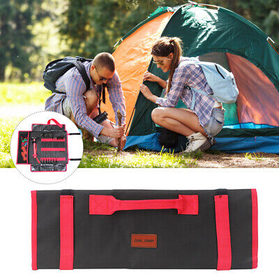 AU21.17 • Buy Nail Bag Camping Tent Portable Outdoor Camping Tool Pouch Stake Peg Storage Bag