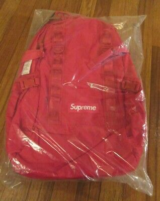 $ CDN351.43 • Buy Supreme Backpack Red FW20 FW20B8 Supreme New York 2020 Brand New Free U.S. S&H