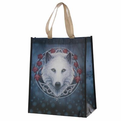 £9.50 • Buy Set Of 3 - Lisa Parker Reusable Guardian Of The Fall Wolf Shopping Bag