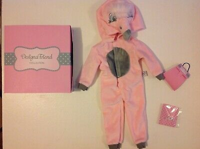 £16.95 • Buy Design A Friend Flamingo Outfit Onsie For Chad Valley Designafriend 18  Doll New