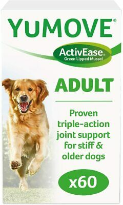 Lintbells YOUMOVE Supplement For Dog Mobility Health Aid Stiff Old Dogs 60 • 16.70£