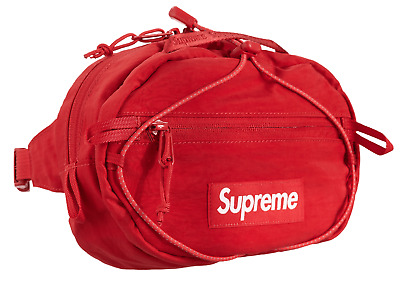 $ CDN247.63 • Buy Supreme Waist Bag Red FW20