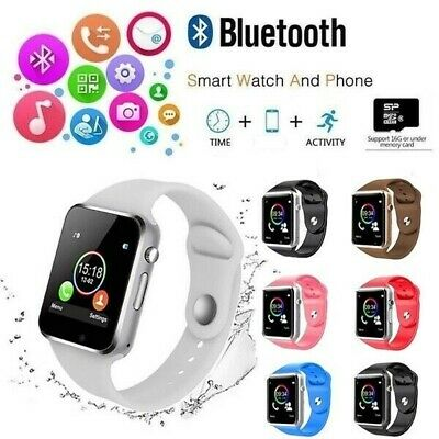 AU29.79 • Buy Apple Watch Style Bluetooth Smart Watch A1 Android Samsung IPhone Men Women AUS