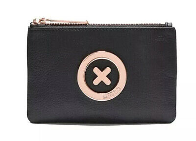 AU33.95 • Buy MIMCO Black Small Pouch Leather Supernatural Wallet Purse Clutch BNWT RRP$69.95