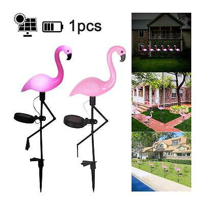 Solar Powered Flamingo Lawn Lamp Garden Decor Outdoor Stake Landscape Led Lights • 5.99£