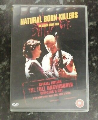 Natural Born Killers: Director's Cut (DVD, 2003) Woody Harrelson, Juliette Lewis • 0.99£
