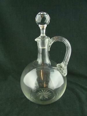 £39 • Buy Lovely Victorian Cut Glass Decanter Jug For Wine