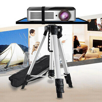 AU43.91 • Buy Compact Height Adjustable Projector Stand Tripod With Large Tray Indoor Outdoor