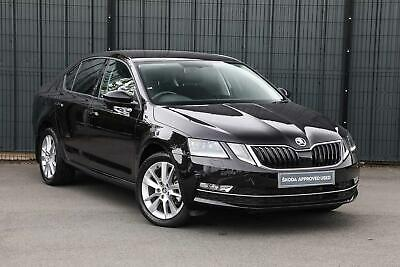 2019 Skoda OCTAVIA Hatchback 2.0TDI SE L (150PS) Diesel Black Manual • 15,495£