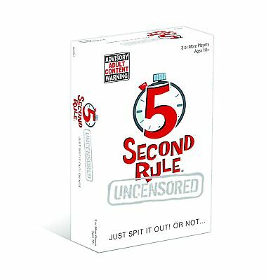 AU19.95 • Buy 5 Second Rule Uncensored