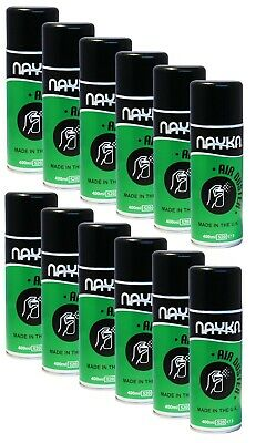 £12.99 • Buy 12x LESS THAN FULL Nayka Compressed Air Duster/Cleaner Spray CFC/HFC Free