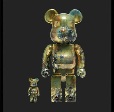$600 • Buy Be@rbrick Pushead #5 Gold 100% & 400%  IN HAND