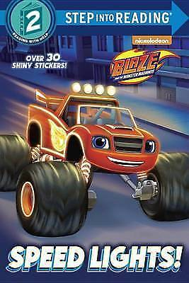 Speed Lights! (Blaze And The Monster Machines) (Step Into Reading) • 4.32£