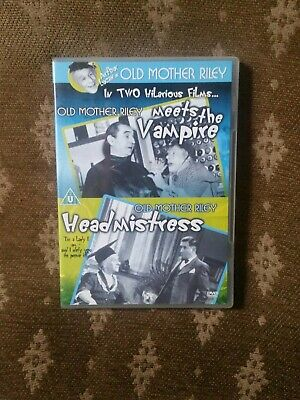 Old Mother Riley Meets The Vampire  & Head Mistress Dvd • 3£