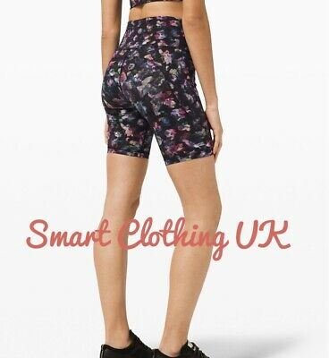 "$ CDN86.16 • Buy Lululemon Women's Fast And Free HR Shorts 6""  (Activate Floral)     RRP £68"